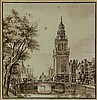 [Amsterdam]. Anonymous (19th cent.). (View of the
