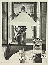 Berserik, H. (1921-2002). Tegenlicht. Etching and