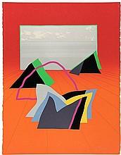 Benjamin, A. (1931-2002). (Landscape). Col.