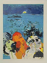 Bohemen, C.B. van (1928-1985). (Three ladies under