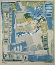 Abboud, C. (1926-2004). (Untitled composition).