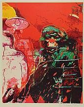 Bohemen, C.B. van (1928-1985). (Monkey). Col.