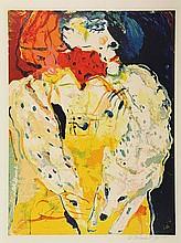 Bohemen, C.B. van (1928-1985). (Lady wearing a