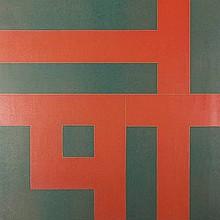 Blotkamp, C. (b.1945). (Geometrical composition).