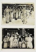 [China]. Lot of 30 orig. photographs, ±1900-1920,