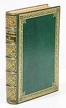 [Bindings]. Full green morocco binding, both