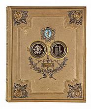 [Bindings]. Full embossed, gilt and decorated