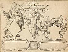 [Emblemata]. (Heinsius, D.). Emblemata Amatoria: