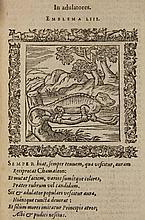 [Emblemata]. Alciatus, A. Omnia emblemata. Paris,