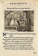 [Emblemata]. Brune, J. de. Emblemata of