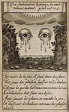 [Emblemata]. Berthod, F. Emblesmes sacrez, tirez