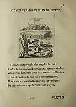 [Emblemata]. Elger, W. den. Zinne-beelden der