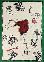 Alechinsky, P. (b.1927). Deuxième primaire. Colour