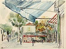 Andréa, K. (1914-2006). (Streetview in