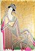 Abas Akasi (b.1939). (Geisha). Drawing,