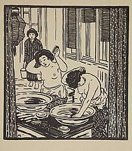Michl, F. (1877-1951). (Japanerinnen bei der