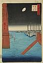 Hiroshige (1797-1858).