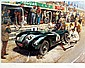After Terence Cuneo (1907-1996) JAGUAR PIT STOP,