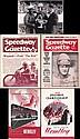 Post-war 1940s-50s speedway journals and