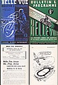 Rare wartime Belle Vue Speedway programmes &
