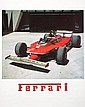 1980 Ferrari Formula 1 poster, a period colour