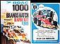 Twelve original 1970s motor racing posters,