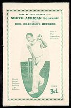 A Special Test Edition of the South African Souvenir, this comprises the 24