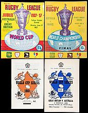36 Rugby League World Cup programmes in England and Australia, Tournament p