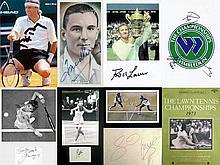 Autographs of Wimbledon Tennis Champions (1930-2000s), i) Fred Perry signed