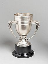 The 1967 London Cup, in the form of a three-handled silver trophy cup, hall