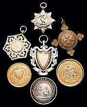 A group of 26 swimming medals won by the British Olympic champion swimmer A