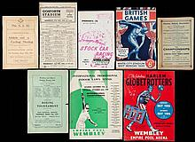 A miscellany of sports programmes,  Including 19 Athletics programmes,