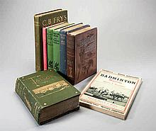 Eight volumes on golf published between 1893 and 1931,  The Badminton L