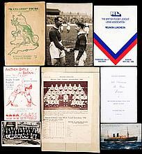 Martin Hodgson memorabilia,  including a scrapbook of the Great Britain