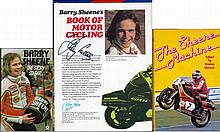 Three Barry Sheene signed biographies,  comprising The Story So Far, St