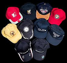 Ten International Touring Car caps,  comprising the 35th Bathurst 1000,