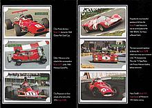 Ferrari photocard sets from the Motor Sport magazine Card Collection,