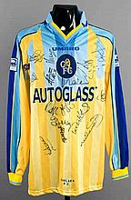 Shayne Demitrious: a team-signed yellow Chelsea No.12 jersey from the 1997