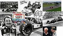 1979-1993 Nigel Mansell signed photographs and ephemera,  comprising a