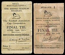 F.A. Cup Final ticket Bolton Wanderers v West Ham United 28th April 1923