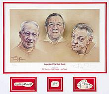 An autographed Liverpool FC