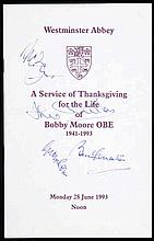 A Westminster Abbey Order for a Service of Thanksgiving for the Life of Bob