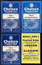 227 Chelsea home programmes dating between seasons 1954-55 and 1959-60,