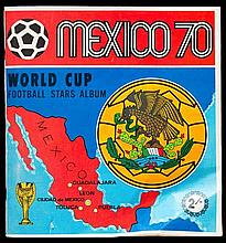 A complete album of Panini's first internationally marketed sticker album '