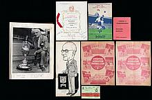 A collection of memorabilia formerly owned by the nephew of the Liverpool F
