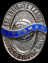 A linesman's medal for the Football League v The Football League of Ireland
