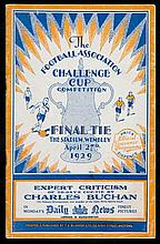F.A. Cup Final programme Bolton Wanderers v Portsmouth 27th April 1929