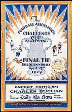 F.A. Cup Final programme Bolton Wanderers v Portsmouth 27th April 1929,