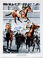 A Lester Piggott signed Nijinsky 1970 Triple Crown