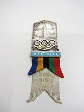 A London 1948 Olympic Games official's badge